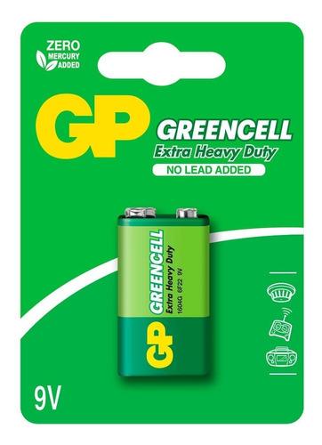 Pila Bateria 9v Greencell Gp Blister