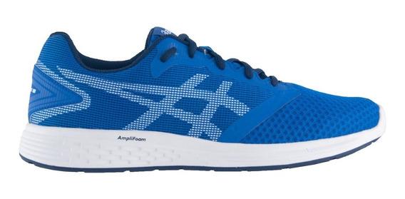 Tenis Asics Patriot 10a Masculino Azul Original De: 249,90
