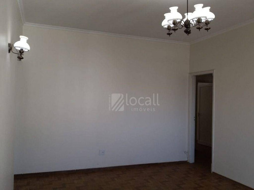 Apartamento Com 3 Dormitórios Para Alugar, 100 M² Por R$ 700,00/mês - Centro - São José Do Rio Preto/sp - Ap0690