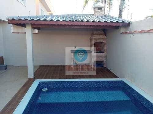 Sobrado Com Piscina 3 Dormitórios À Venda, 115 M² Por R$ 460.000 - Cibratel Ii - Itanhaém/sp - So0024