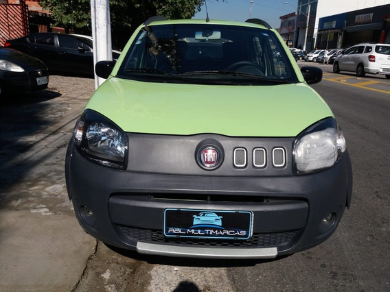 Fiat Uno 1.0 Evo Way Flex 4p 2011/2012
