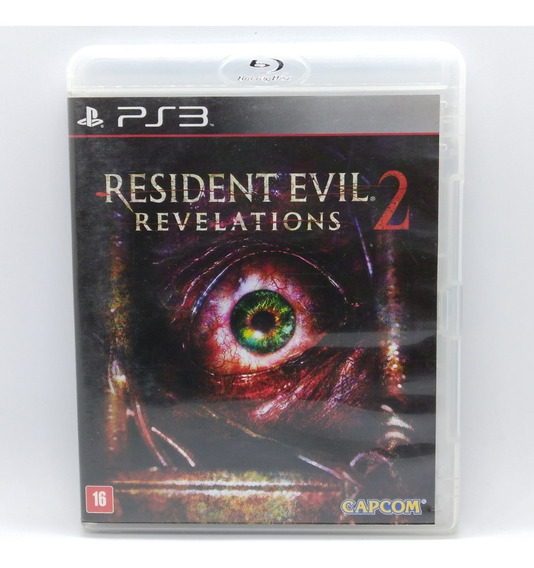 Resident Evil Revelations 2 Ps3 Midia Fisica Portugues Jogo