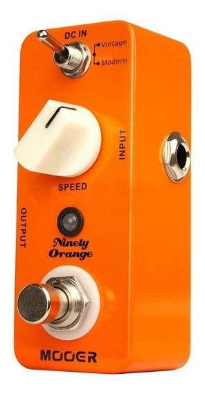Micro Pedal Mooer Ninety Orange Analog Phaser Mnoap Com Nf