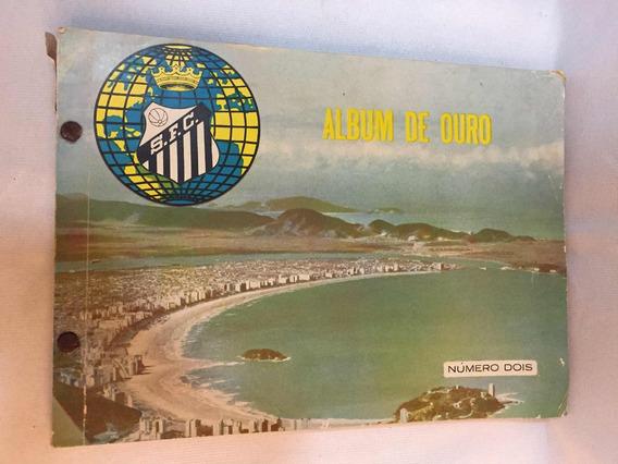 Santos Futebol Clube Álbum De Ouro Número 2 Raro Antigo
