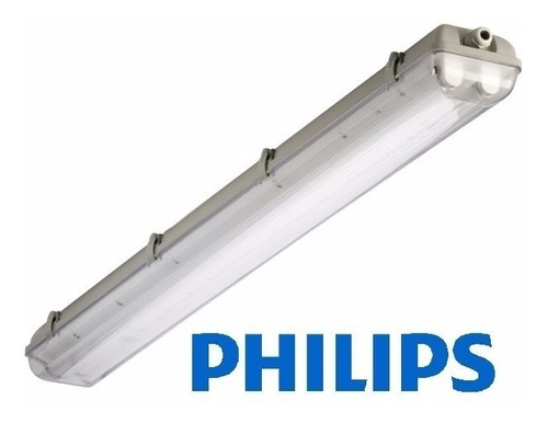 Estanco Para Led 2x36w Philips