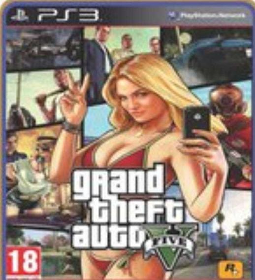 Gta 5 Grand Theft Auto Português Ps3 Psn Envio Rápido