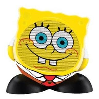 Ekids Altavoz Caracter Recargable Spongebob Squarepants