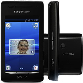 Sony Xperia X8 E15 128mb Single 3g Mp3 Wi Fi Preto Vitrine 2