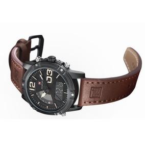 Relógio De Pulso Masculino Naviforce Mod 9095 Envio Imediato