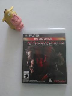 Metal Gear Solid 5 Phantom Pain Ps3 Garantizado