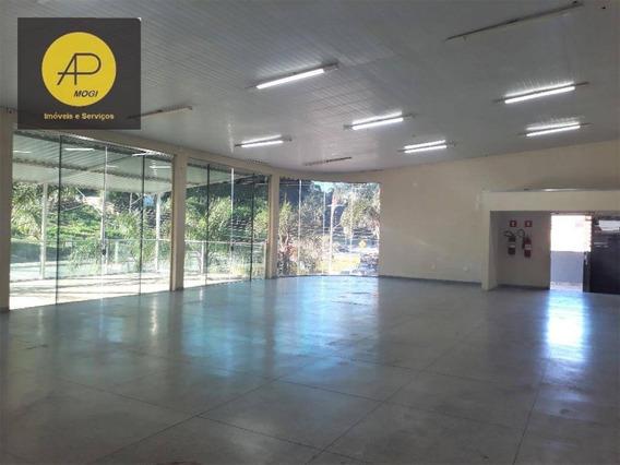 Salão Para Alugar, 277 M² - Jardim Rubi - Mogi Das Cruzes/sp - Sl0004