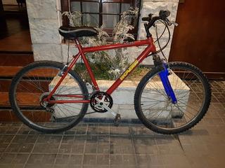 Bicicleta Mountain Bike, Suspensión, Cambios Shimano 18 Vel