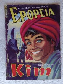Epopéia Nº 18! Ebal Jan 1954! Kim! Rudyard Kipling