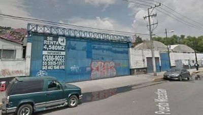 Bodega En Renta De 3,930 M2 En Gustavo A. Madero, La Pastora
