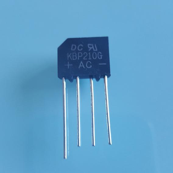 2pç - Ponte Retificadora 2a 1000v Kbp210g Ac (499)