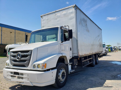 Mercedes-benz Mb 2324 6x2 Baú Atron 2013 / Financiamento