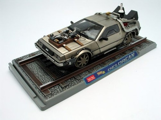 1982 Delorean Back To The Future Iii Diecast Modelo De...