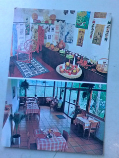 Cartão Postal Penedo Artes Helka E Maarit Viking Restaurante