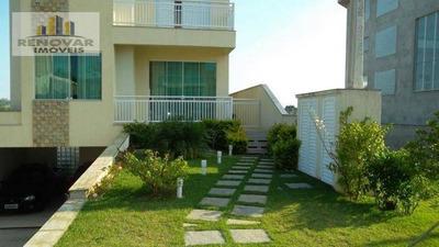 Casa Com 3 Pavimentos, 312 M² Por R$ 1.200.000 - Cidade Parquelandia - Mogi Das Cruzes/sp - So0042