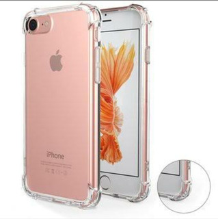 Funda iPhone 6, 6s Y 6s Plus Anti-golpe Transparente Trasera