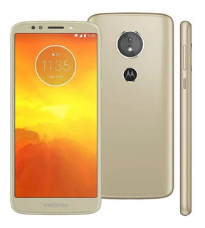 Smartphone Motorola Moto E5 Xt1944 Ouro 32gb Tela 5.7