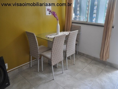 Vendo Ou Alugo Lindo Apartamento 02 Quartos No Aleixo Excelente Localização - Ap00878 - 33413237