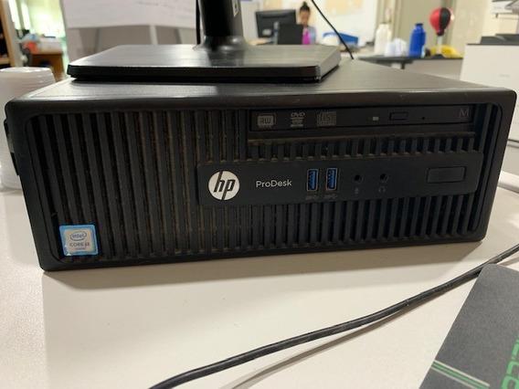 Desktop Hp 400 G3 Sff Cor E Prodesk Win 10 Home (w99lt)