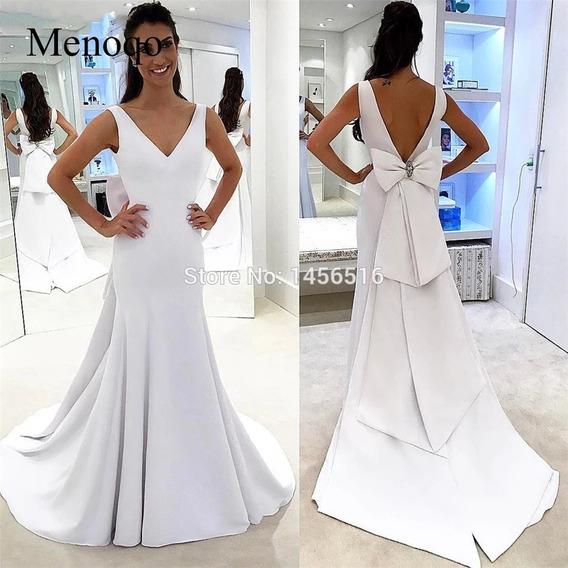 Vestido Branco Noiva Ou Debutante Lindo Demais Tamanho 42