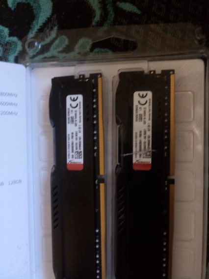 2x Memoria Ddr4 4gb 2666mhz Kingston Hyperx
