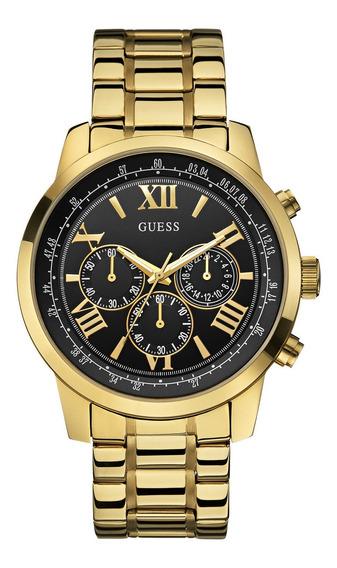 Relógio Masculino Guess Banhado A Ouro 92526gpgdda5 - Nf