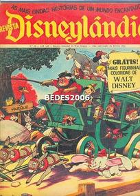 Disneylândia Nº 28 - Editora Abril - 1972