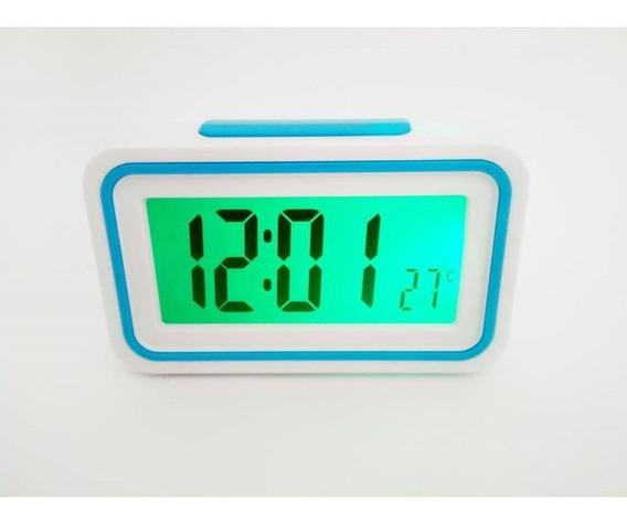 Relógio Despertador Fala Hora Para Def. Visual E Idoso