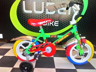 Bicicleta Rodado 12 De Varon Motivos Infantiles Envío Gratis