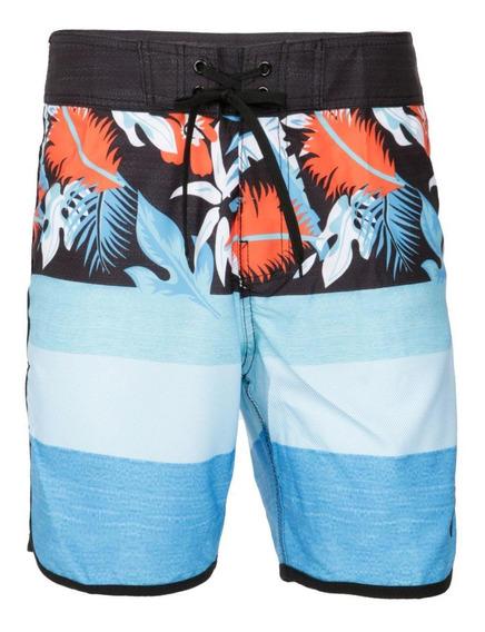 Traje De Baño Hawai Celeste