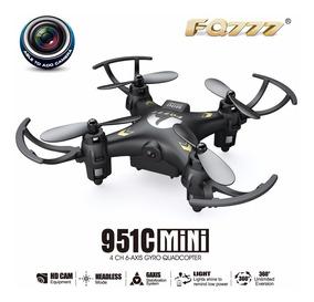 Drone Quad Quadcopter Fq777 951c C Camera Cartao De Memoria