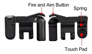Gamepad Controle Pubg E Freefire Mobile Barato Frete Fixo