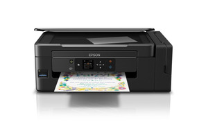 Impressora Multifuncional Ecotank L495 Epson Sem As Tintas