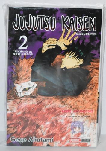 Imagen 1 de 2 de Jujutsu Kaisen # 2 - Panini - Manga