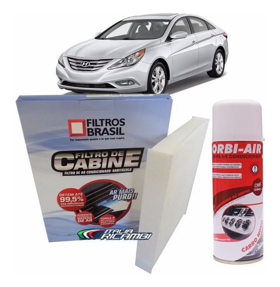 Filtro Ar Condicionado Higienizador Hyundai Sonata Após 2011
