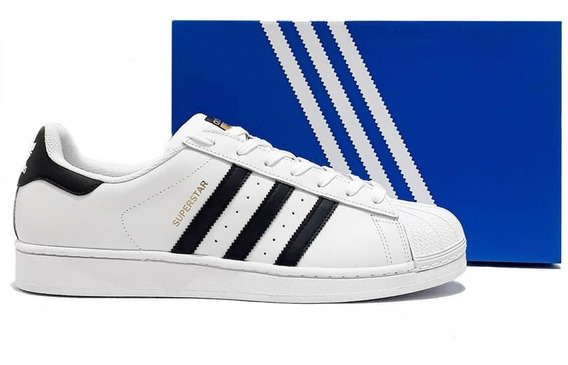 Tênis adidas Superstar Branco Sneakers Original