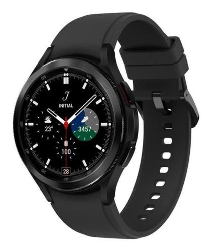 Imagen 1 de 5 de Samsung Galaxy Watch4 Classic (bluetooth) 1.4  Caja 46mm De  Acero Inoxidable  Black Malla  Black De  Fluoroelastómero Y Bisel  Black De  Acero Inoxidable Sm-r890