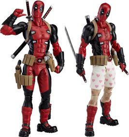 Action Figure Deadpool Figma Boneco X-men Articulado