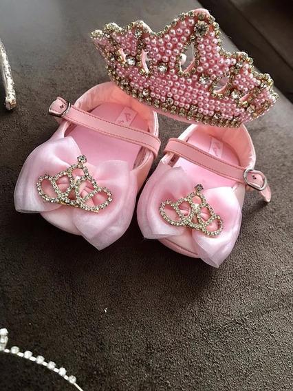 Sapato E Coroa Princesa