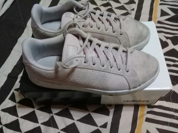 Zapatillas adidas Cf Advantage Cl W Mujer Rosas Gamuza