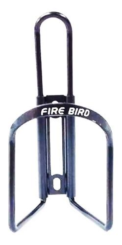 Imagen 1 de 2 de Porta Caramañola P/ Bicicleta Fire Bird Aluminio Negro