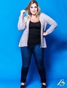 Calça Jeans Plus Size Cintura Alta Feminina Vários Modelos!!