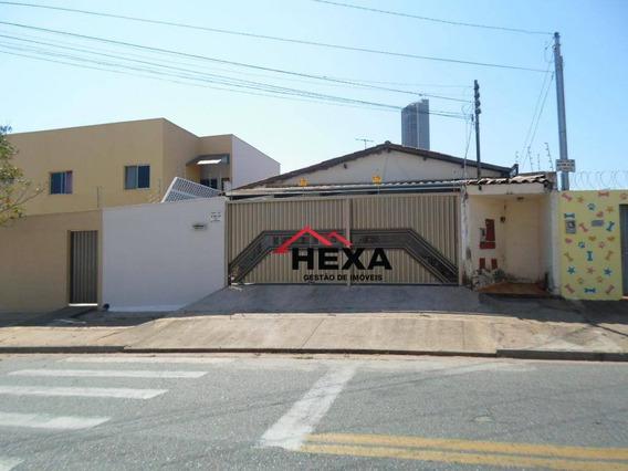 Casa Com 02 Quartos É 08 Kitnets À Venda, 509 M² Por R$ 750.000 - Jardim América - Goiânia/go - Ca0473
