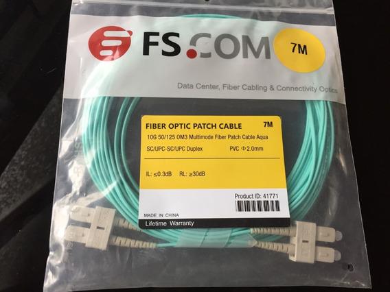 Fiber Optic Patch Om3