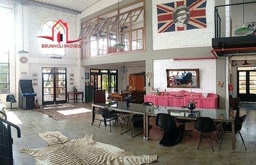 Casa A Venda No Bairro Distrito Industrial Em Vinhedo - Sp.  - 1271-1