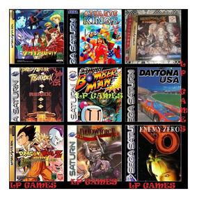 Sega Saturn Emulador 900 Jogos